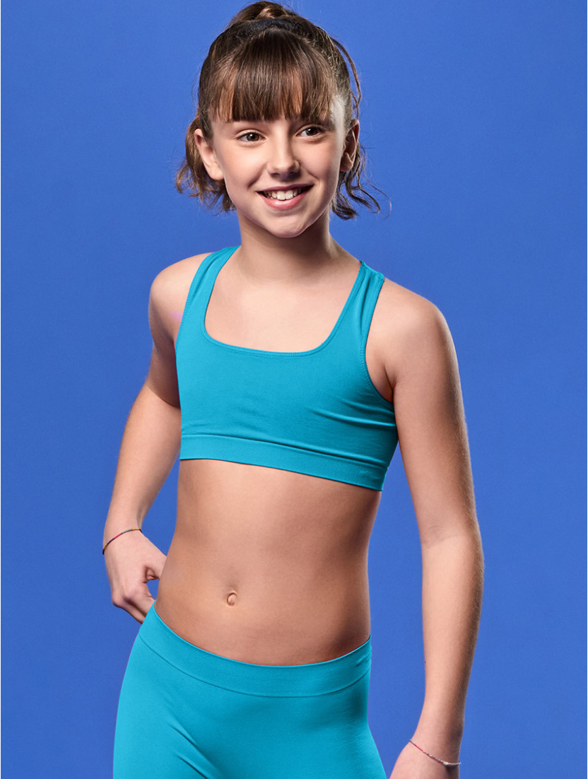 TOP GYM BIMBA TURCHESE