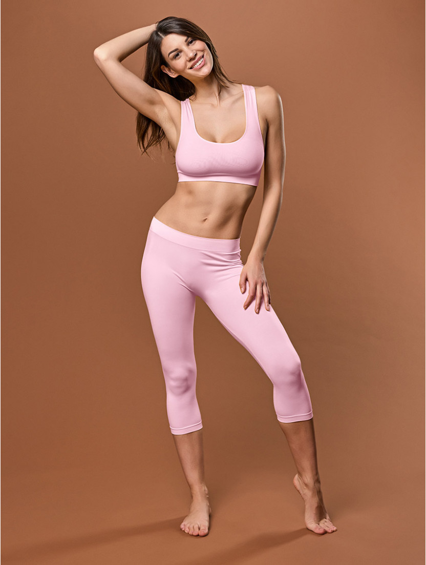 LEGGINGS MEDIO DONNA ROSA