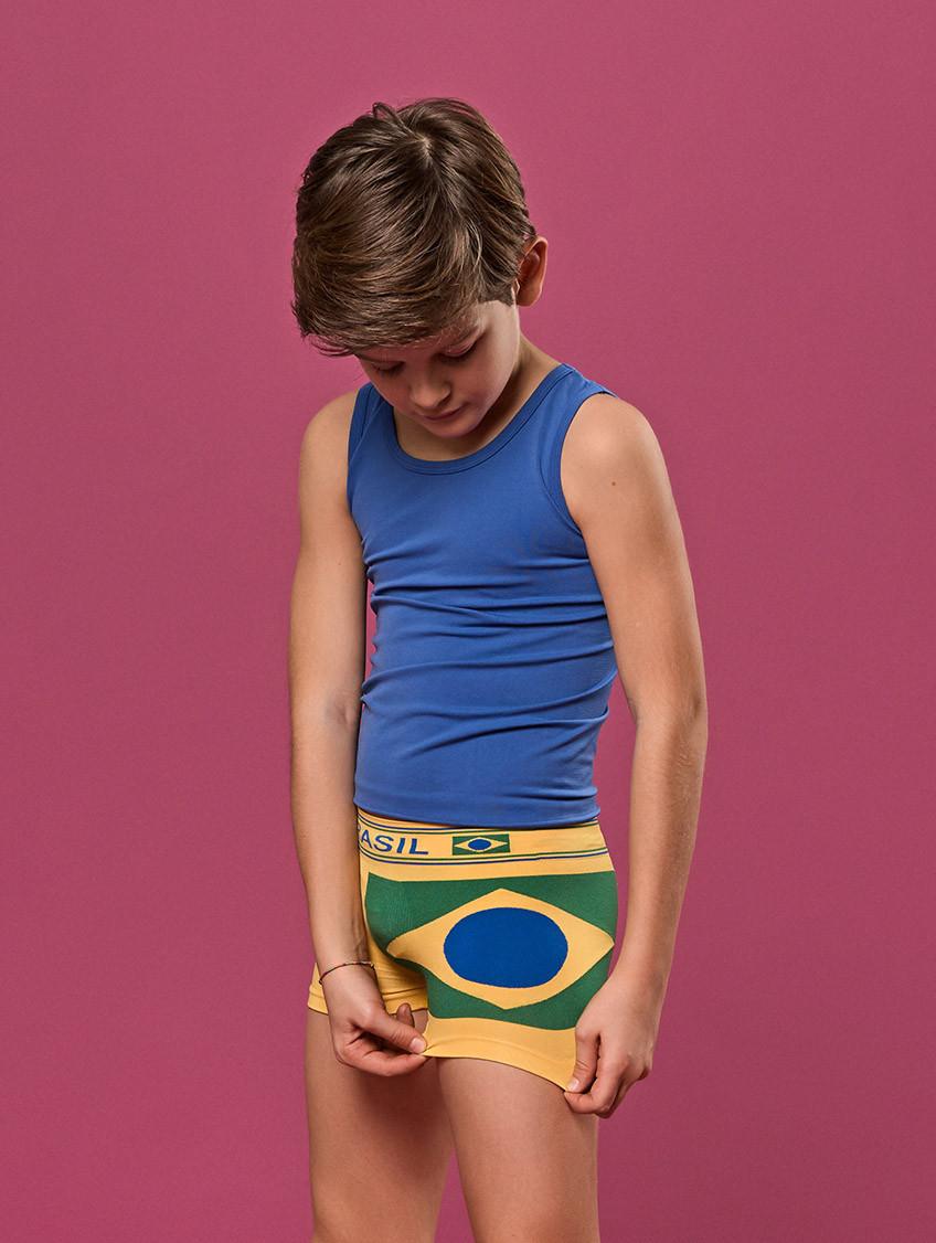 JUNGE WELTMEISTERSCHAFT BOXERSHORTS BRASILIEN