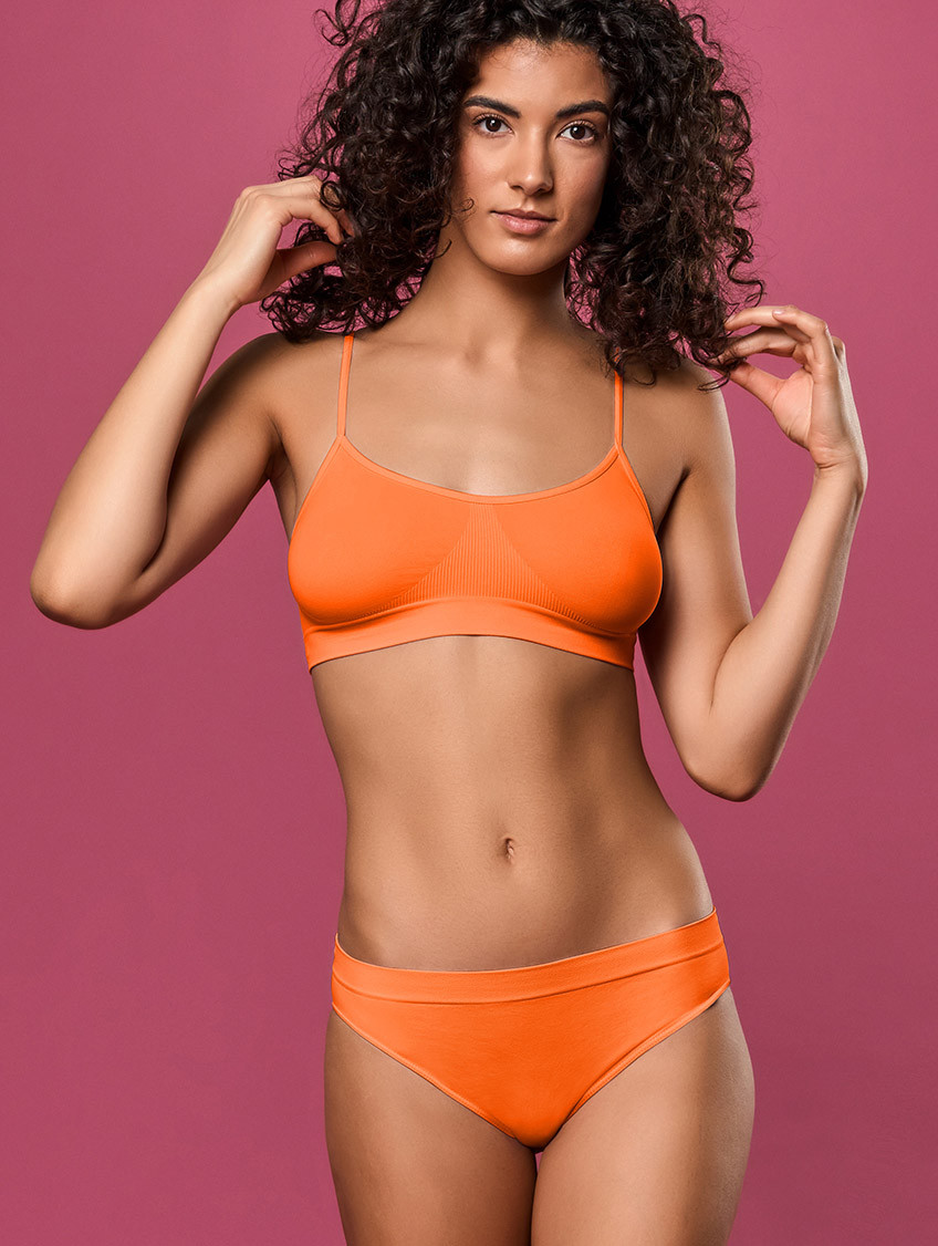 TAILLENSLIP ORANGE FLUO'
