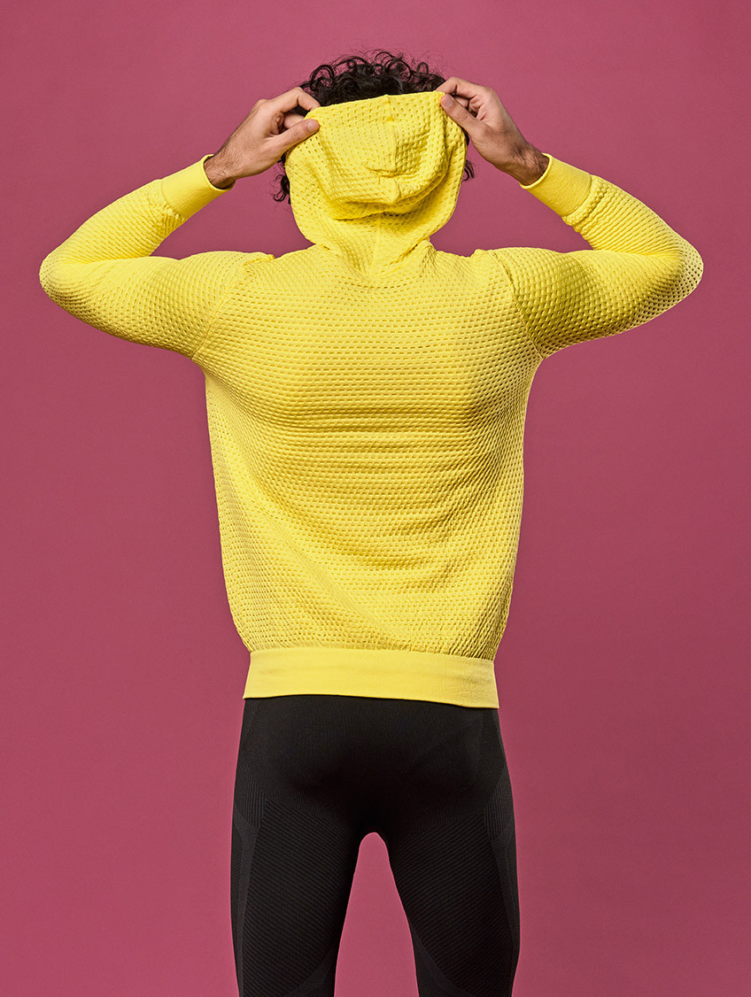SWEAT-SHIRT DRYARN NEON