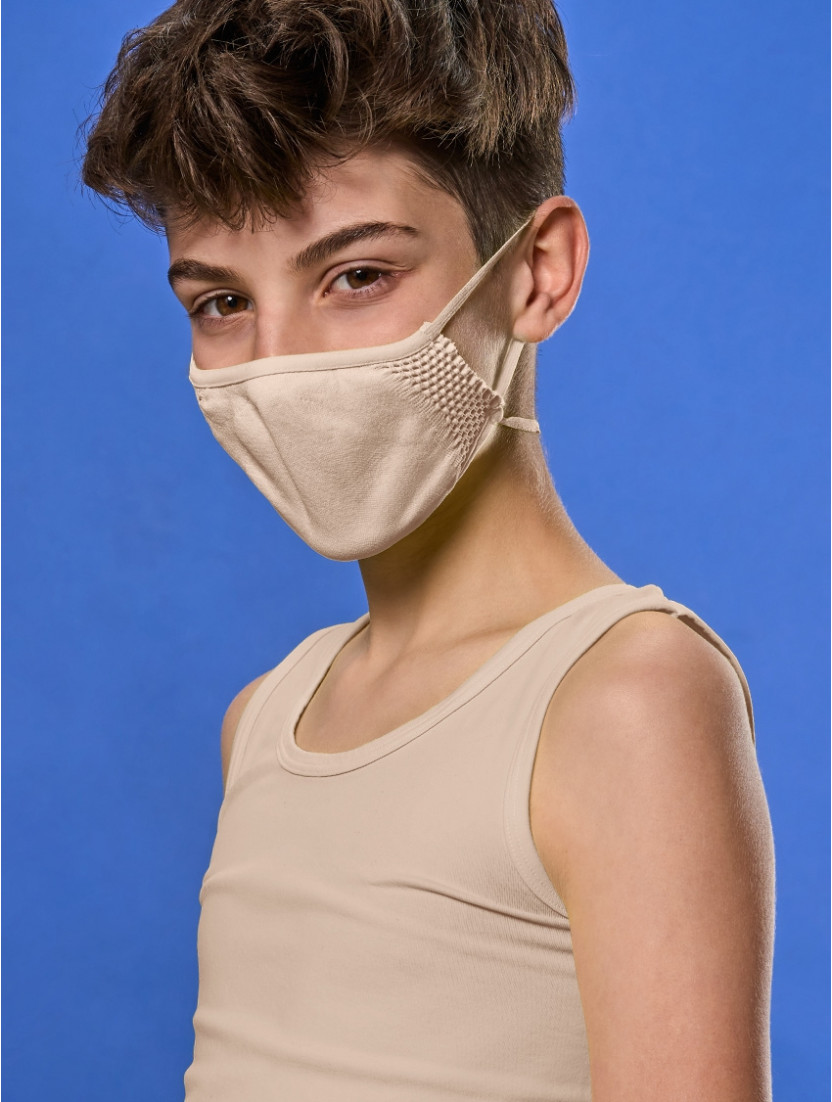 ADJUSTABLE REUSABLE FACE MASK KIDS SANDY