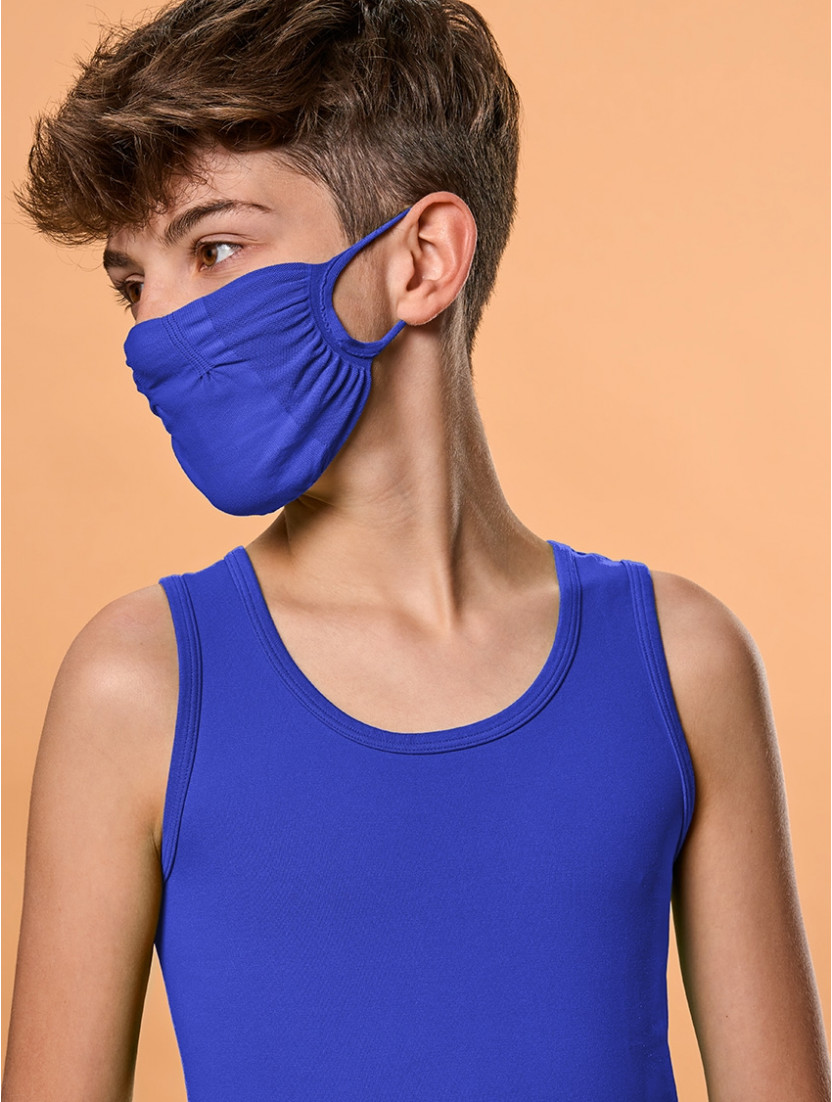 ADJUSTABLE REUSABLE FACE MASK Q-SKIN KIDS BLUETTE