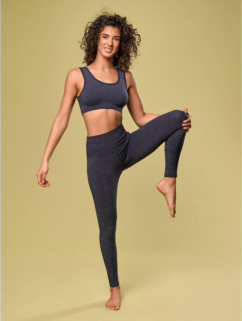 Capri Leggings Für Damen BLAU
